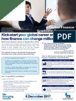 Global Finance Graduate Programme, Novo Nordisk