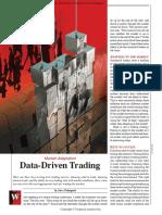 09 Data Driven Trading