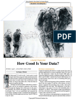 13-How Good is Your Data