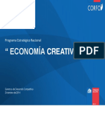 Programa Estrategico Nacional. Economia Creativa