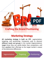 Chapter 6B (Crafting the Brand Positioning)