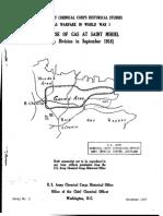 No 5-The Use of Gas at Saint Mihiel 90th Division Sep 1918