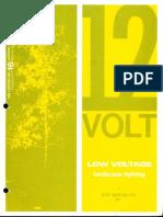 Kim Lighting 12 Volt Landscape Lighting Products Catalog 1972