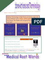 Medical Abbreviations Student Worksheet