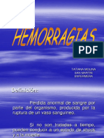 Clase n 7 Hemorragias