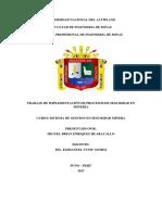 Implementación de Procesos de Seguridad en Minería