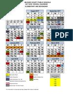 Revised AB Calendar 2017-2018
