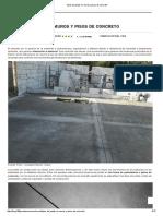 Tipos de Juntas en Muros y Pisos de Concreto