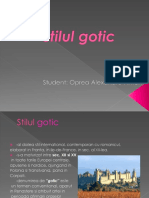 arhitectura gotica