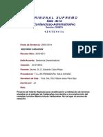 2014-02-06 SENTENCIA 2419
