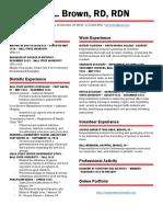 erin brown resume