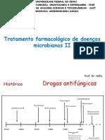 Tratamento Farmacológico de Doenças Microbianas II