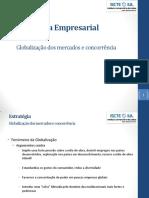 Globalização Dos Mercados e Concorrência