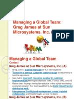 Managing a Global Team