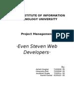Even Steveni Web Creations