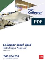 Ceilector Steel Grid Installation Manual May 2015