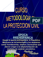 Curso de Metodologia Proteccion Civil