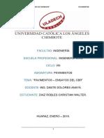 MODELO DE INFORME ENSAYO CBR
