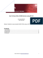 Howto Erase XC9500