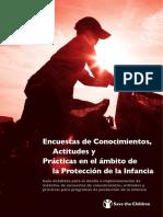 205_Save the Children_Encuestas de Conocimientos, Actitudes y Prácticas. Guía Detallada