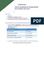 COMUNICADO de Extensión Del Programa de Cisco (2)