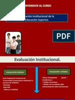 Evaluación Institucional Educación Superior