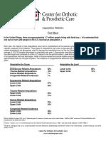 Amputation Statistics