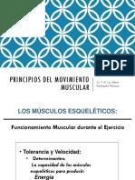 Principios Del Movimiento Muscular