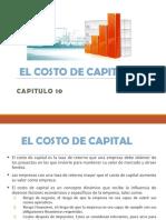 Presentacion 8 A EL COSTO DE CAPITAL Cap 10.ppt