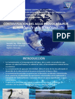 Contaminación Del Agua Por Efectos Petroleros y de Electricidad