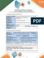 Guía de actividades y Rubrica de evaluación Paso 3. Elaborar la Integración, Dirección y Control en la empresa Lego.pdf