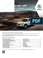 Skoda Kodiaq - Brief Instructions English