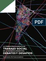 ACEVEDO P. y FUENTES P. -Comps- · La Formación Académica en TS._ (1)