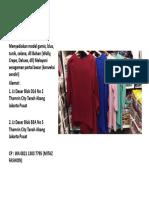WA 0821 1303 7795,grosir baju muslim perempuan murah,grosir baju muslim remaja perempuan,grosir baju muslim untuk wanita