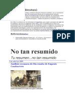 TP Lit Arg Naturalismo y Realismo. Fuentes