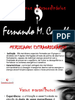 Meridianos Extraordinários Fernando m. Carvalho