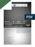 Laboratório FT - Escoamento Laminar