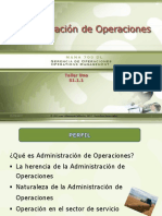 Aministración de Operaciones