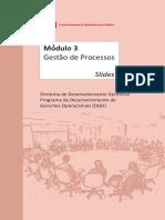 2 Slides - Módulo 3 - Gestão de Processos