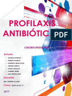 ODONTOPEDIATRIA PROFILAXIS ANTIBIOTICA