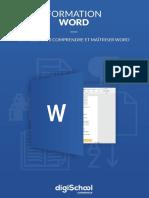 Word - Formation Microsoft Word