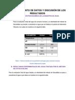 Tratamiento de Datos y Discusión de Los Resultados (Reparado)
