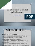 Clasificación Del Municipio