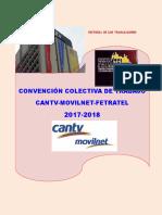 Contrato Colectivo Cantv Movilnet Fetratel 2017 2018