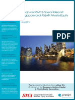 Preqin SVCA Special Report Singapore ASEAN Private Equity April 2014