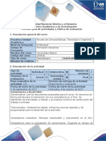 Guía de Actividades y Rubrica de Evaluacion - Paso 1 - Identificar y Aplicar Las Herramientas Básicas Para Programar