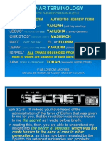 The Secret ~ THE COVENANT IS TAUGHT TO THE NATIONS