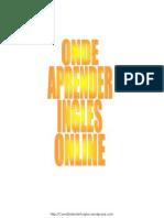 Onde Aprender Ingles Online