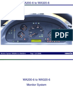 22 Monitor System WA200-6 to WA320-6