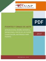 PUENTES Y OBRAS DE ARTE